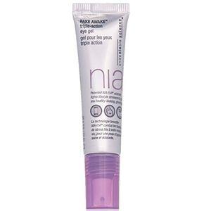 NIA Fake Awake Triple Action Eye Gel, 0.5 Fl Oz